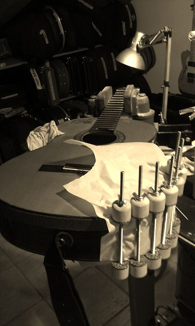 Taller taller de luthier en madrid for Luthier madrid
